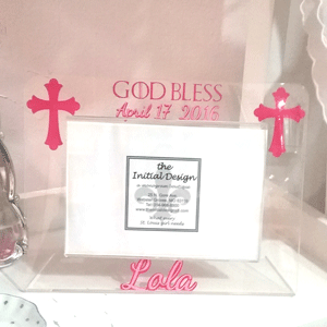 Personalized Cross Frame